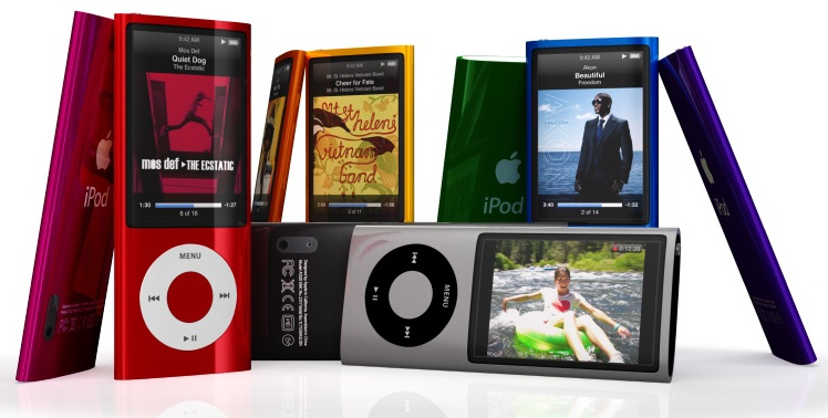 iPod Nano radio y video 01