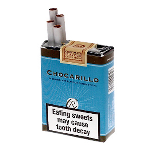 Image result for chocolate cigarettes candy